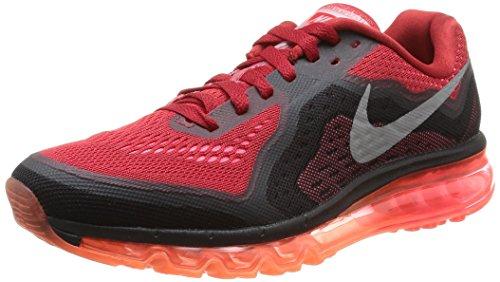 Nike Air Max 2014, Scarpe Sportive, Uomo, Multicolore (Gym Red/Rflct Silver/Hypr Pnch), 40