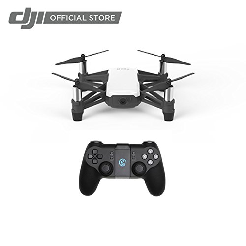 Price comparison product image Ryze Tech Tello - Mini Drone Quadcopter UAV for Kids Beginners 5MP Camera HD720 Video 13min Flight Time Education Scratch Programming Toy Selfies,  Powered by DJI,  White