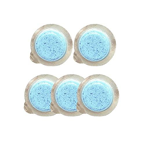 10PCS Lave Glace Voiture Concentré, Nettoyant Pare Brise Pastille Concentrés Voiture Lave Glace Portable Tablette Effervescentes pour Voiture Cuisine Fenêtre