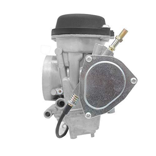 LQW HOME Carburador RUNTONG Carb Motor CARURBURARIO Compatible con Suzuki Quadsport Z400 LTZ400 ATV Quart 2003-2007 Yamaha Raptor YFM 350 YFM350 04-13 Carbohidratos