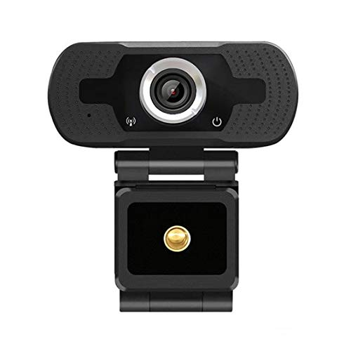 Jessicadaphne Webcam 1080P HDweb Camera With Built-In HD Microphone Online Classes USB Plug Play Web Cam Widescreen Video
