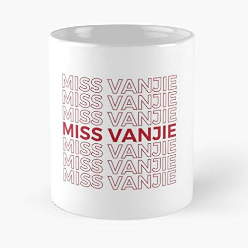 Miss Vanjie Rupaul's Drag Race Classic Mug - Funny Gift Coffee Tea Cup White 11 Oz The Best Gift For Holidays