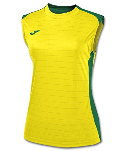 Joma 900246.915 T-Shirt Manches Longues Sportswear, Jaune/Vert, FR (Taille Fabricant : XXS)