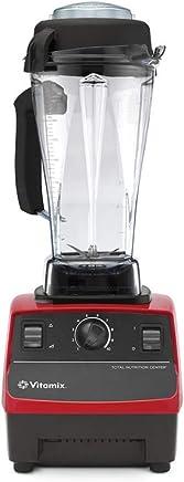 Vitamix 维他密斯 破壁机料理机 TNC5200(红色)多功能厨房搅拌机绞肉机和面机婴儿辅食机榨汁机豆浆机果汁机 2L高容杯配置 双速10档 硬物识别 高温自断电 原装进口