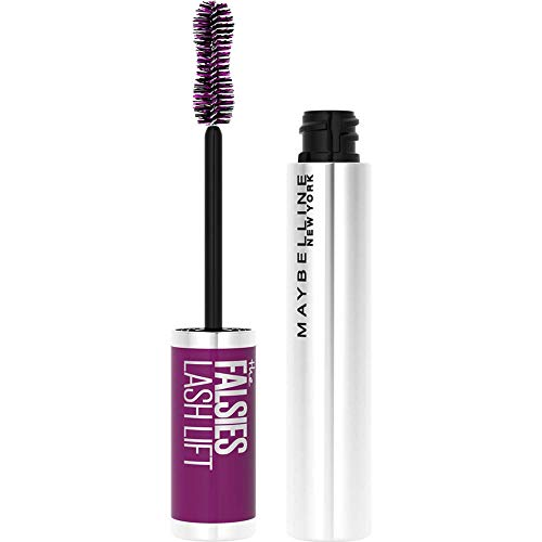 Maybelline New York Mascara mit Falsche-Wimpern-Effekt, Falsies Lash Lift, 01 Black, 9,6 ml