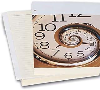 2K YDK2 Tarihsiz Çizgili Defter Yedek, 4 Delikli, Halkalı, Organizer Ajanda İçi, 15X21,5 cm, Ivory Kağıt