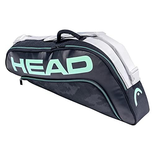 Head Tour Team 3R Pro Bolsa de Tenis, Azul Marino/Blanco, 3 Racquets