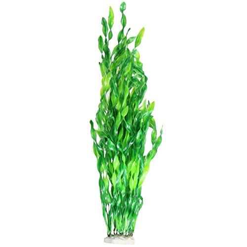 JDYW 52cm Künstliche Aquarium Pflanzen Große Kunststoff Wasserpflanze Gefälschte Wasser Gras Aquarium Dekorationen Ornament 20.5 Zoll