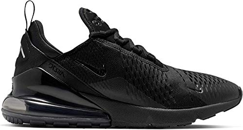 Nike Herren Air Max 270 Turnschuh, Black Chrome Pure Platinum Anthracite, 46 EU