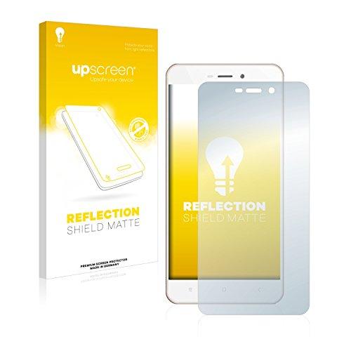 upscreen Entspiegelungs-Schutzfolie kompatibel mit Xiaomi Redmi 4A – Anti-Reflex Bildschirmschutz-Folie Matt