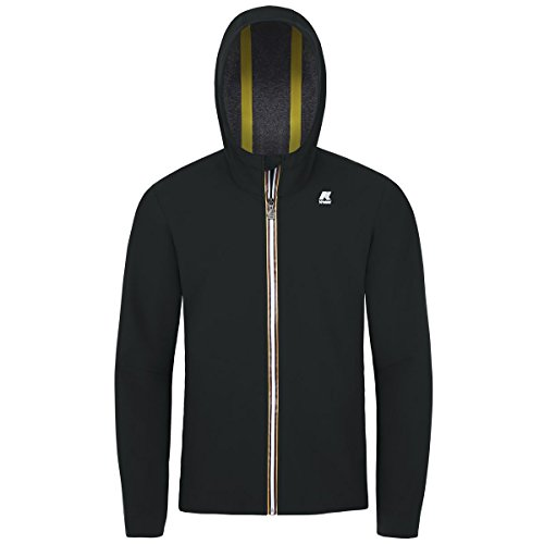K-Way Giacca Uomo Jack Bonded Jersey K007LV0 PESN K02 Black, XL MainApps