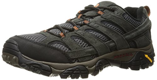 Merrell Men's Moab 2 Vent Hiking Shoe, Beluga, 9 M US
