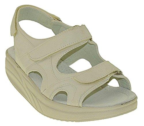Bootsland 728 Sandalen Fitnessschuhe Gesundheitsschuhe Damen, Schuhgröße:36