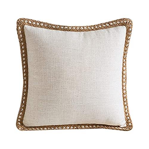 Freljorder Skandinavischer Wind Kissenbezug Luxus dekorative Lange Kissenhülle für Sofa,FNAM313