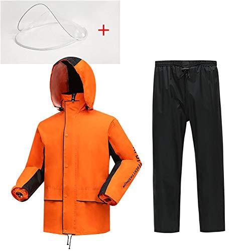 Draagbare Unisex Regenpak Lichtgewicht Materiaal Regenjas Outdoor Waterdichte Hooded Regenjas Poncho Winddicht Goed voor Buitensporten, Reizen, Fietsen, Wandelen