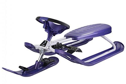 Stiga 73–2322–04 – Snow Racer Color Pro certifié TÜV/GS Outdoor et Sport, Violet