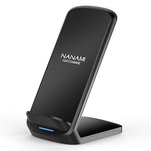 「2020年最新版」NANAMI ワイヤレス急速充電器 Qi認証 iPhone 12/12 Pro/SE (第2世代) /11 / 11 Pro / Xs /...
