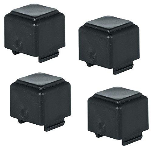 Afstandhouder kunststof afstandhouder voor gestapelde klaptafels - model H1100 | hoogte: 29 mm | kunststof zwart | 4 stuks