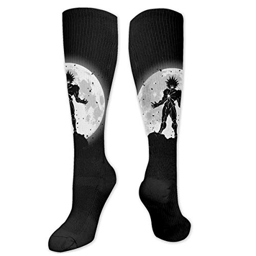 winterwang One Punch Man Calcetines de compresin unisex Calcetines hasta la rodilla Calcetines largos de tubo