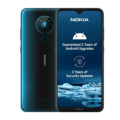 Nokia 5.3 6.55-Inch Android UK SIM Free Smartphone with 4 GB RAM and 64 GB...