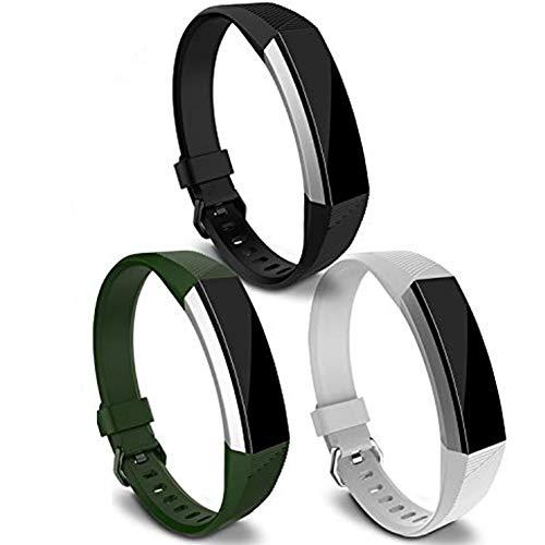 KingAcc Compatibile Alta HR Cinturini, Silicone Morbido Cinturino Sostitutivo per Alta HR, Fitness Cinturino da Polsino con Fibbia in Metallo
