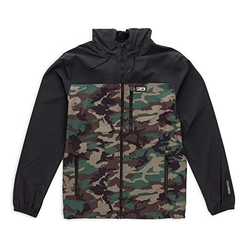 PELAGIC Dri-Flex 2.0 Lightweight Jacket | Size XL | Fish Camo Green