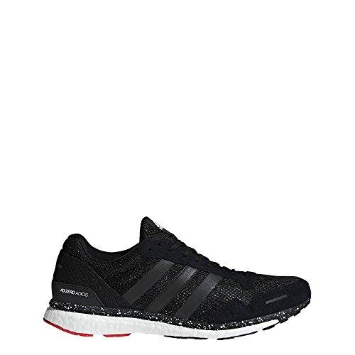 Adidas Originals Adizero Adios 3 - Scarpe da corsa da uomo, rosso (Rosso/Nero/Blu brillante), 39.5 EU
