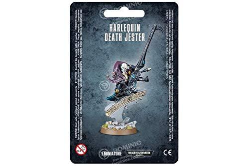 """Juegos Workshop 99000000125 Warhammer 40"""" Figura de acción Harlequin Death Jester"""