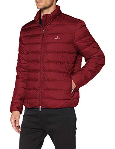 GANT Herren The Light DOWN Jacket Jacke, Port RED, XL