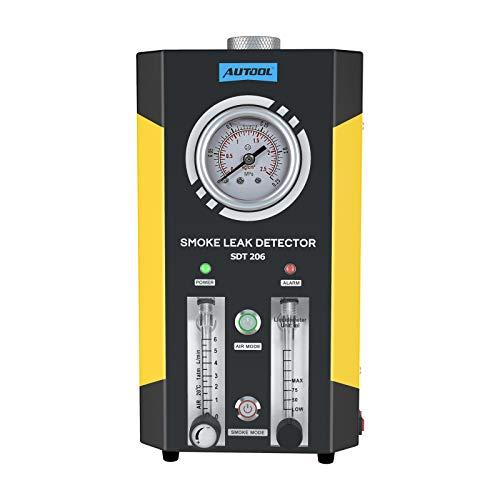 Automotive Pipes Kraftstoffleckdetektor Diagnositc Tester EVAP Lecks Prüfmaschine für 12 V Fahrzeug/Motorräder/Boot (Neueste Dual Modes)