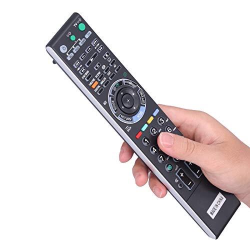 Sxhlseller Control Remoto, RM-L1108 Reemplazo de Control Remoto dedicado Ajuste para retroiluminación de televisión LED LCD Sony KDL-40XBR