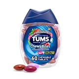 TUMS Chewy Bites Antacid Tablets for Chewable...