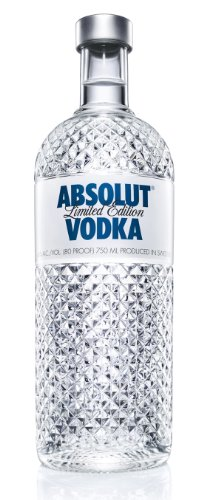 Absolut Wodka Glimmer Limited Edition in edlem Diamanten Design (1 x 1 l)