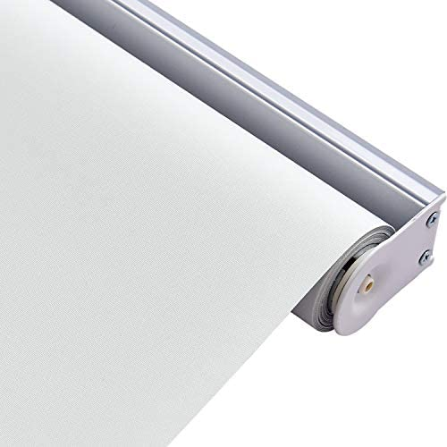 ALLBRIGHT Classic 100 Blackout Cordless Thermal Insulated Fabric Vinyl Roller Shades Blinds product image