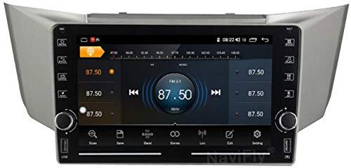 9' Android 9.0 1 DIN Radio Coche Bluetooth para Lexus Rx330 2003-2009 Radio Coche Pantalla Tactil Soporte WiFi GPS USB FM Mirror-Link,WiFi 2g+32g