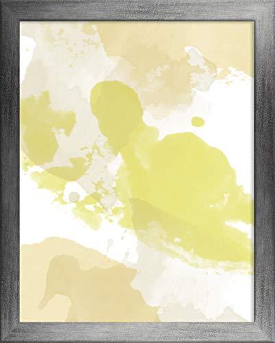 Misano rand fotolijst 15,7x23,6 Inch (40 x 60 cm) met Antireflectief Kunststof Glas Perspex 23,6x15,7 Inch fotolijst Kleur Grijs wazig
