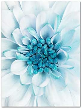YGYT Flower Canvas Wall Art for Dandelion Leaf Painting Poster on Canvas for Home Living Room product image