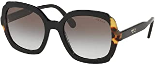 Prada PR16US HERITAGE Square Sunglasses For Women+FREE Complimentary Eyewear Care Kit