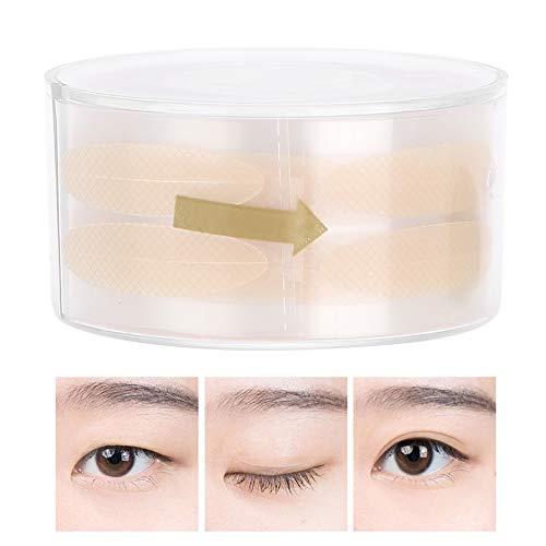 Cadeau D'Avril Outil de maquillage pour les yeux avec un ruban de dentelle invisible à double paupière, Ligne de double paupière invisible ligne de œil auto-adhésif bande outil de maquillage des yeux