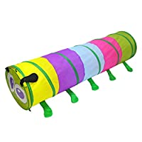 Yihiro 子供テント キッズテント トンネル 可愛い 虫型 子供遊具 子供遊ぶハウス 折り畳み式 室内・室外 知育玩具 ボールプール お誕生日プレゼント 出産祝い 収納ケース付き 携帯便利