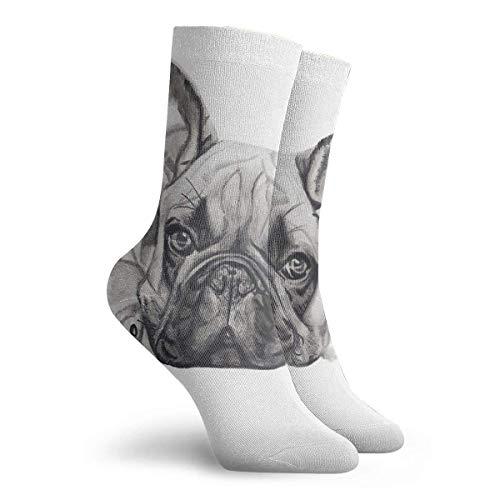 CHOP THE FRANCH BULLDOG - Calcetines cortos para hombre y mujer