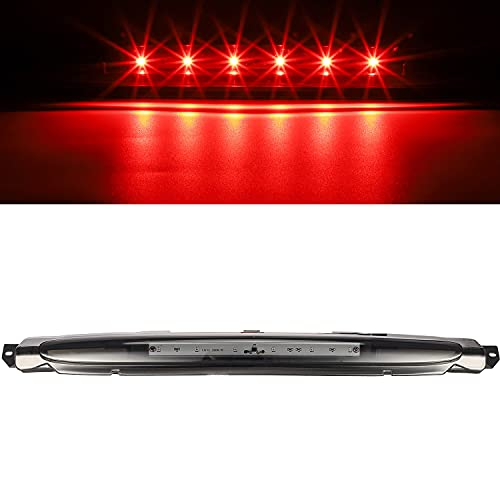 Partsam High Mount Stop Light Led Third Brake Light Replacement for Avalanche 2002-2012 LED 3rd...