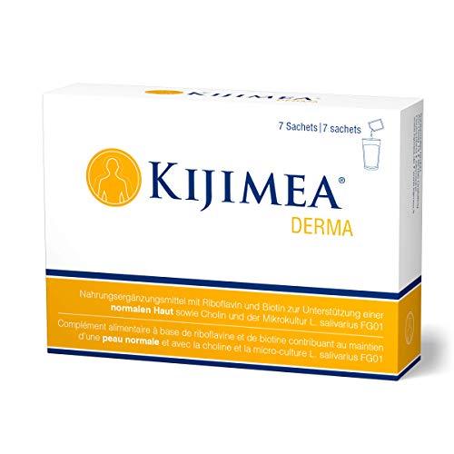 Kijimea Derma - Zur Unterstützung einer normalen Haut - mit Riboflavin und Biotin - vegan, glutenfrei, laktosefrei - 7 Sachets
