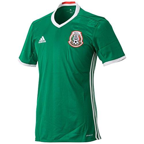 Adidas 2016-2017 Mexico Home Football Shirt