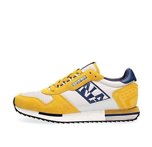 Napapijri Virtus Sneaker Uomo NA4ERZ YA7 Freesia Yellow (Numeric_43)