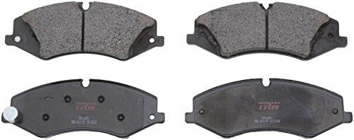 TRW Automotive TPC1479 Premium Ceramic Front Disc Brake Pad Set, Black