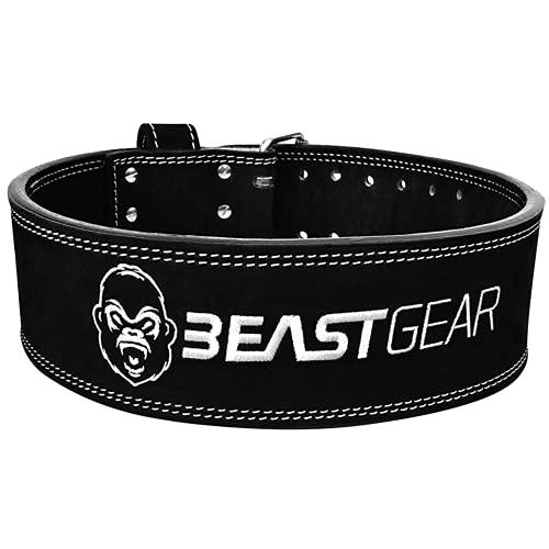 Beast Gear Cinturón Halterofilia – Cinturón Lumbar...