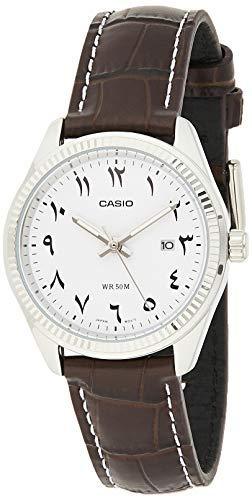 CASIO LTP-1302L-7B3 - Reloj Señora Cuarzo Correa de Piel dial Blanco
