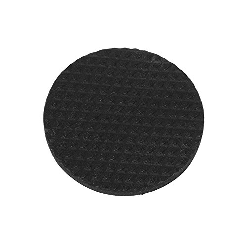 12 Stks Circulaire Zwart Antislip Zelfklevende Rubber Voeten Pads Beschermers Meubels voor Kasten Kleine Apparaten Elektronica Fotolijsten Meubellades Kasten