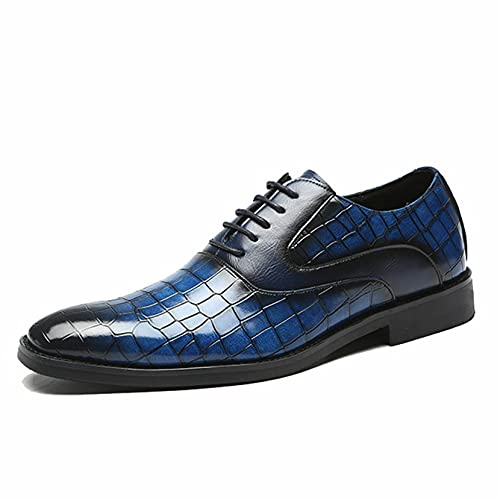 Zapatos de Vestir de Cuero para Hombre Ligeros Resistentes al Desgaste de...